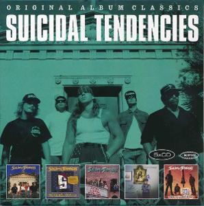 💿 5CD BOX SUICIDAL TENDENCIES – Original Album Classics /ZABALENO