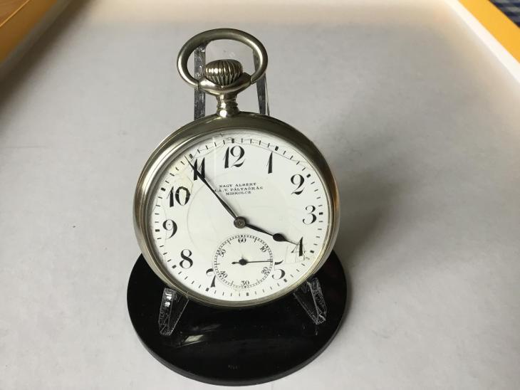 Starožitné dvoupláštové ~ Swiss hodinky DOXA Nagy Albert Miskolcz - Starožitnosti