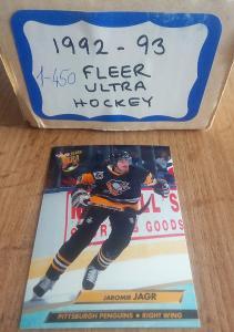 Kompletní set karet - Fleer ultra 92/93 série 1+2 (450 karet)