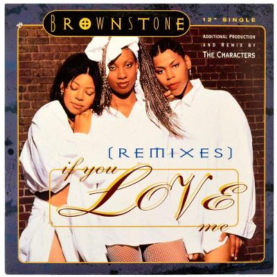 """Gramofonová deska BROWNSTONE - If you love me (Remixes) (12"""")"""