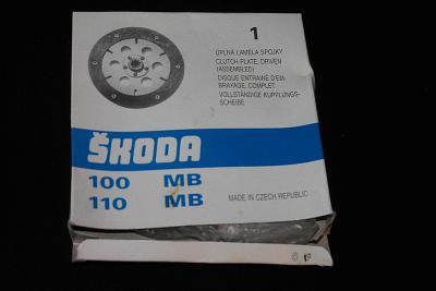 Lamela spojky Škoda 100MB ,110MB