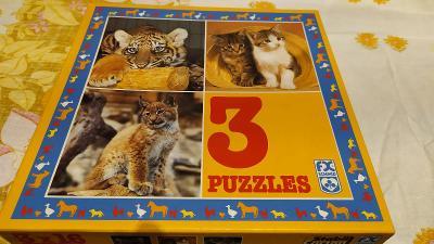"""Puzzle """"kočky"""""""