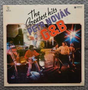 Petr Novák, G&B – The Greatest Hits - LP - 1985 - Panton - Artia