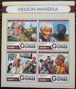 Guinea 2016 Nelson Mandela Mi# 12011-14 Kat 16€ 2555