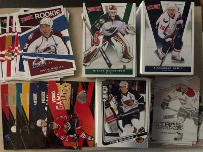 Hokejové kartičky Victory cca 200 karet serie 2009 - 2011
