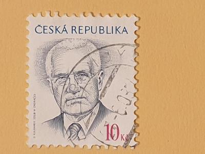 Známky - Česko - prezidenti