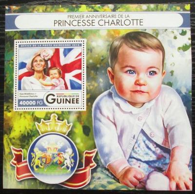 Guinea 2016 Princezna Charlotte Mi# Block 2700 Kat 16€ 2555