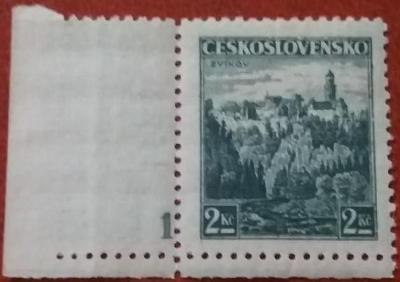 ČSR1 - 1936 - č.307 - desková čísla