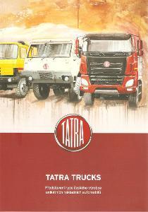 TATRA  TRUCKS firemní profil , 16 stran , česky