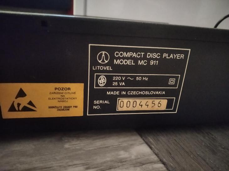 TESLA CD přehrávač MC 911 - TV, audio, video