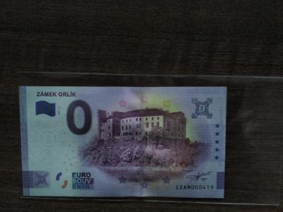0 Euro Souvenir Česko 2021 - ZÁMEK ORLÍK