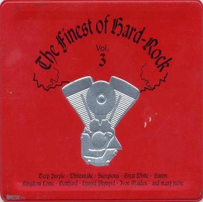 Various – The Finest Of Hard-Rock (Vol. 3) - 2CD 1997 hard rock