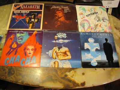 GRAMOFONOVE LP 48 KUSU. ROCK POP SOUL MIX ZACHOVALE !
