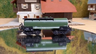 Čtyřosý Cisternový vůz ČSD TT