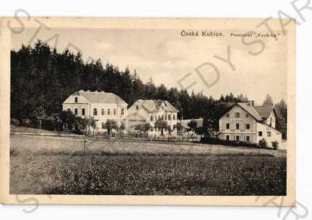 Česká Kubice Domažlice penzion Kovárna  - Pohlednice