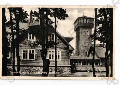 Čerchov Domažlice chata a rozhledna