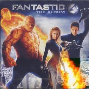 CD - Various – Fantastic 4 The Album (Soundtrack, nerozbalené)