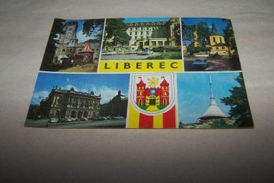 LIBEREC znak  JEŠTĚD /rub i líc/Ř21D/