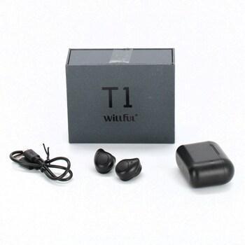 Bezdrátová sluchátka Willful černá
