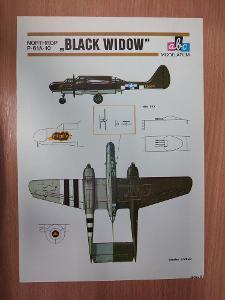 ABC modelářům - Northrop P-61A-10 BLACK WIDOW