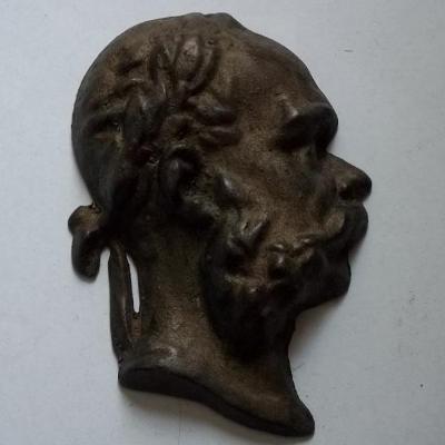 Císař František Josef I. Velký Reliéf , Plaketa 120x90x35mm 1,Sv.Válka