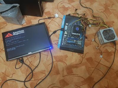 Základní deska F1A55-M LX + AMD A4 3400 + Chladič