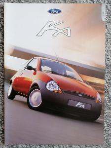 FORD KA - 1999 -  prospekt