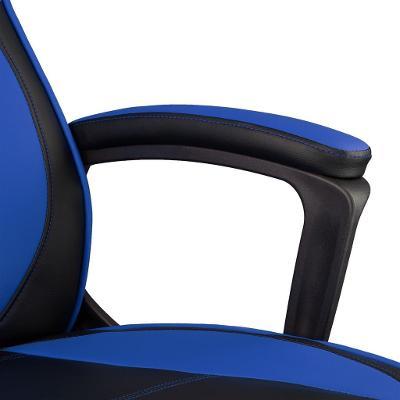 tectake 403193 kancelářská židle senpai - černá/modrá