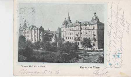 Plzeň (Pilsen), muzeum, DA
