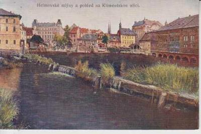 Praha 1, J. Minařík - Stará Praha - Helmovské mlýn