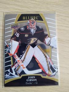 John Gibson UD Allure 2019-20 č. 46 Ducks