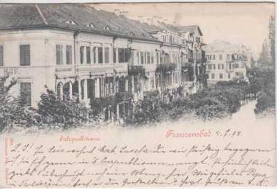 Františkovy Lázně (Franzensbad), Salzquellstrasse,