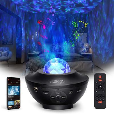 Světelný noční LED projektor oblohy/bluetooth/MP3/360° - od 1,- Kč!