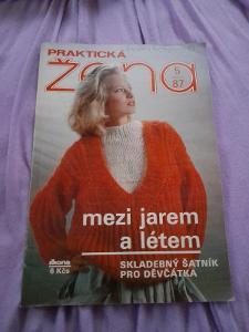 Časopis Praktická žena, 5/87