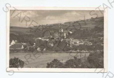 Zdounky Kroměříž pohled na město z výšky Fototypia
