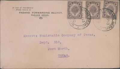 20B200 KEDAH, Padang Besar, Singapore- NUMISMATIC COM. Fort Wort TEXAS