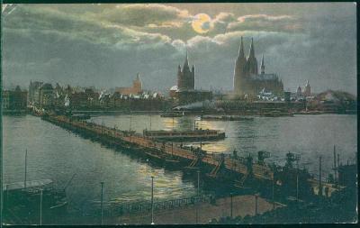 27A1104 Kolín nad Rýnem / Köln am Rhein - most, lodě