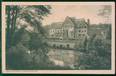 27A1441 Deutschland Bad Elster Dr. Köhlers Sanatorium