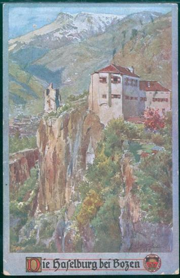 27A1636 Itálie Bolzano Haselburg, dobročinná známka