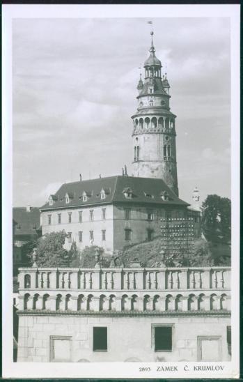 10D2327 Zámek Český Krumlov