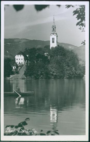 27A1216 Jugoslávie Bled