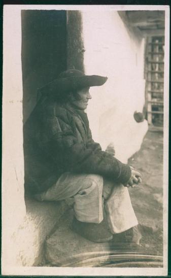 31A80 Turčiansky Sv. Martin - muž v kroji, Starý Ihrišťan