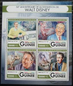Guinea 2016 Walt Disney Mi# 12121-24 Kat 24€ 2556
