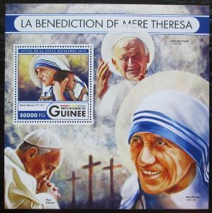 Guinea 2016 Matka Tereza Mi# Mi# Block 2722 Kat 20€ 2556