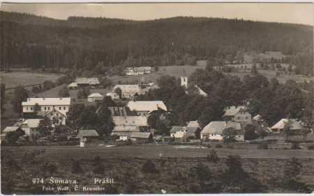 Šumava, Prášily