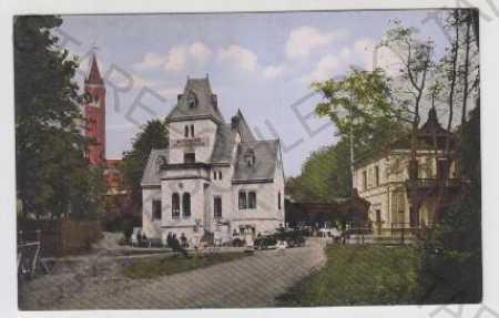 Dubí (Eichwald), restaurace, kolorovaná Teplice
