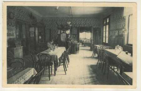 Václavice - Dobenín - restaurace - interiér