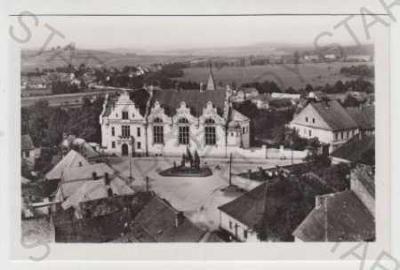 Vysoké Mýto, Ústí nad Orlicí, pohled na město, nám