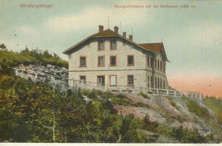 Jeseníky- Šerák (Hochschar)- chata Jiřího, kolorov