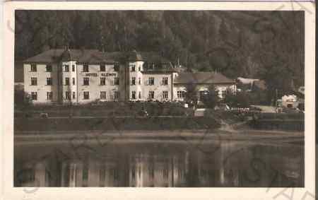 Bystřička, hotel Klenov